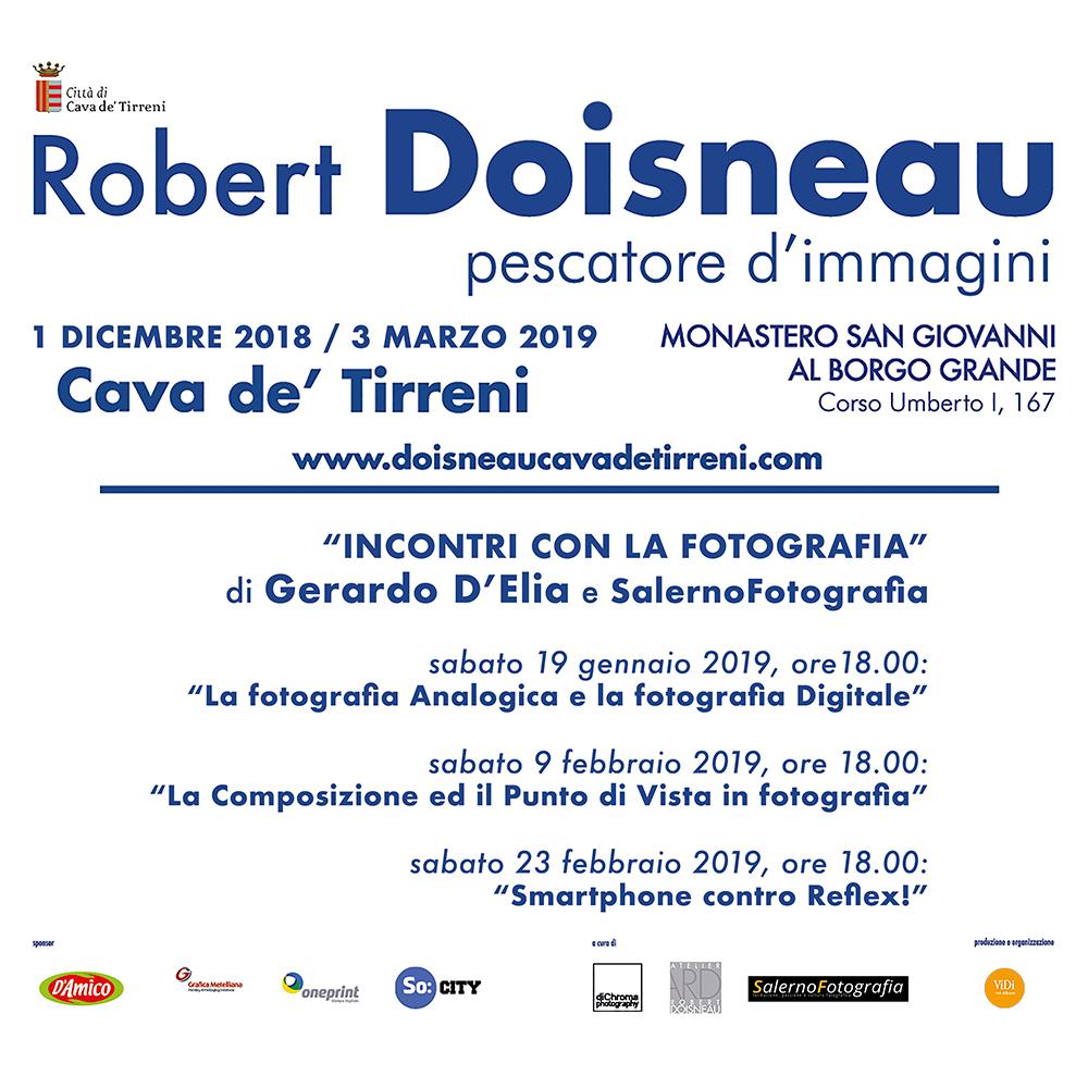 """Fotografo Cava Dei Tirreni 18 dicembre 2018 - gli """"incontri con la fotografia"""" di"""